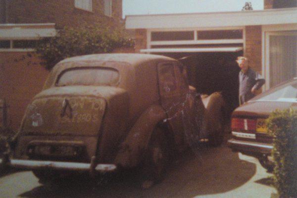 1981 - Daniel's dad brings home a very rusty a 1948 Bentley MKVI